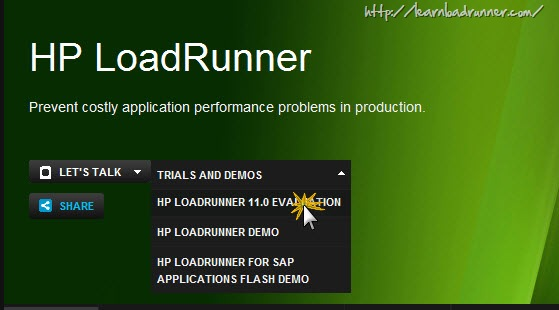 Step by step instructions to download and install LoadRunner